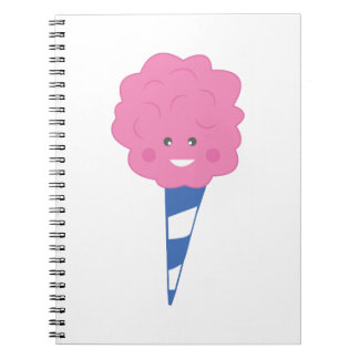 Cotton Candy Spiral Note Book