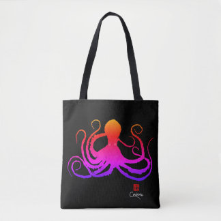 Cotton Candy Octopus - Tote Bag