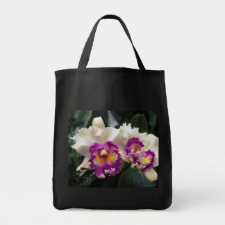 Cotton Candy Orchid Grocery Tote Bag