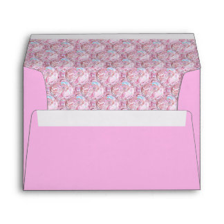 Cotton Candy Patterned Envelope