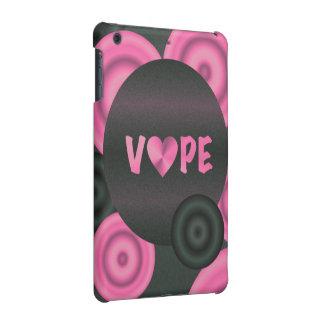 Cotton Candy Pink 3D Vape Heart iPad Mini Retina Covers