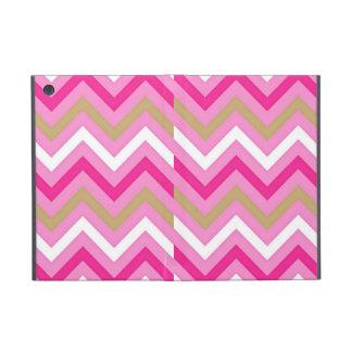 Cotton Candy Pink  Chevron Pattern iPad Mini Cover