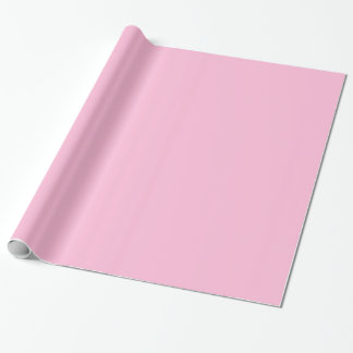 Cotton Candy Pink Gift Wrapping Paper