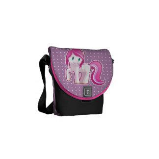 Cotton Candy Pony Messenger Bag