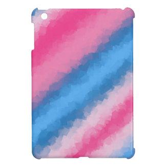 Cotton Candy Rainbow Colors iPad Mini Case