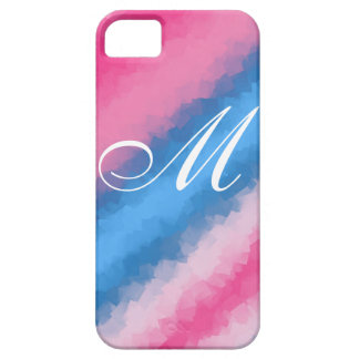 Cotton Candy Rainbow layers iPhone SE/5/5s Case