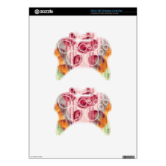 Cotton Candy Raspberry Lips Xbox 360 Controller Decal