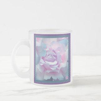 Cotton candy rose coffee mugs