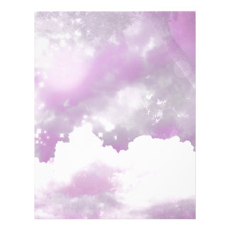 Cotton candy skies letterhead