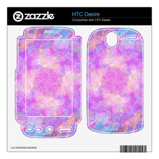 Cotton Candy Decals For HTC Desire