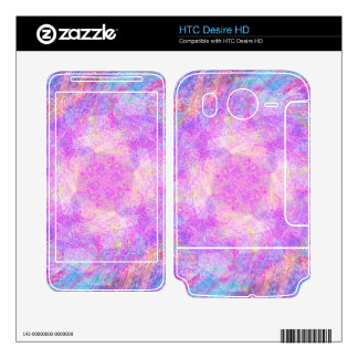 Cotton Candy Decal For HTC Desire HD