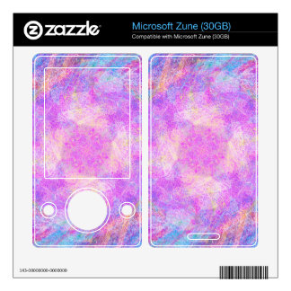 Cotton Candy Skins For The Zune