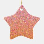 Cotton Candy Sky Christmas Ornament