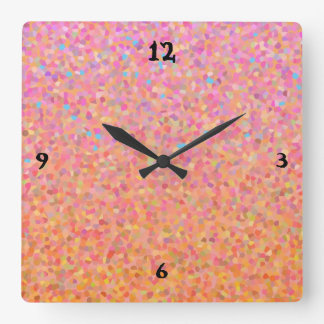 Cotton Candy Sky Clock