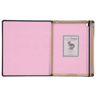 Cotton Candy Solid Color iPad Folio Cases