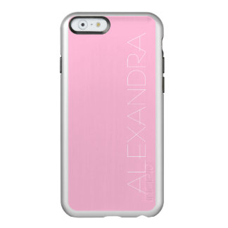 Cotton Candy Solid Color Incipio Feather Shine iPhone 6 Case