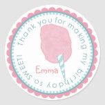 Cotton Candy stickers- Pink and Blue