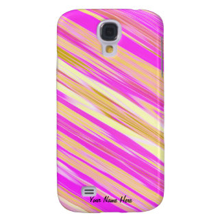 Cotton Candy Stripe 3g  Samsung Galaxy S4 Case