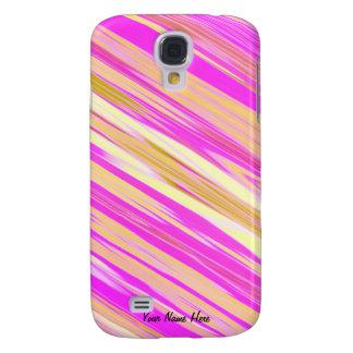 Cotton Candy Stripe 3g  Samsung Galaxy S4 Case