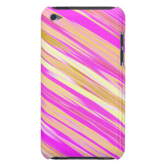 Cotton Candy Stripe Design 4G Barley There Case Barely There iPod Cases