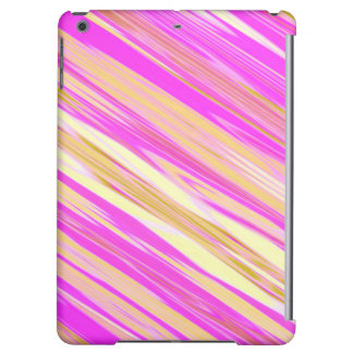 Cotton Candy Stripe Design iPad Air Case