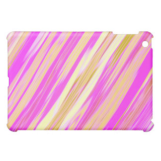 Cotton Candy Stripe Design  iPad Mini Cover