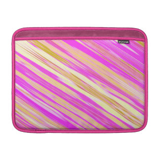 Cotton Candy Stripe Design MacBook Air Sleeve