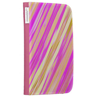 Cotton Candy Stripes Kindle Folio Kindle Covers