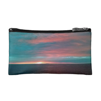 Cotton Candy Sunset Bagettes Bag Cosmetic Bag