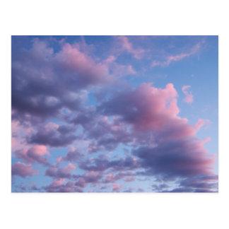 Cotton Candy Sunset Postcards