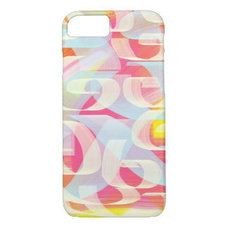 Cotton Candy Swirls iPhone 7 case