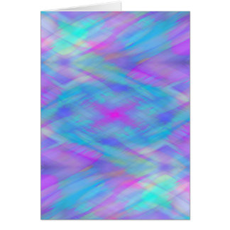 Cotton Candy Textures - Heliotrope & Blue Card