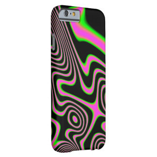 Cotton candy Trippy Abstract Barely There iPhone 6 Case