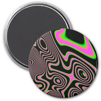 Cotton candy Trippy Abstract Magnet