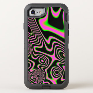 Cotton candy Trippy Abstract OtterBox Defender iPhone 7 Case