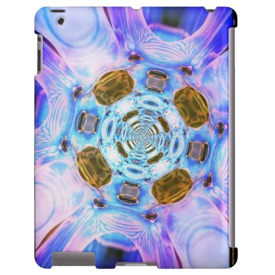 Cotton Candy Wormhole iPad case