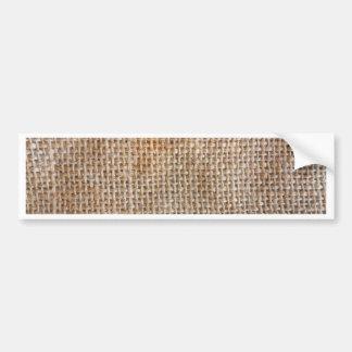 Cotton Canvas Bumper Sticker