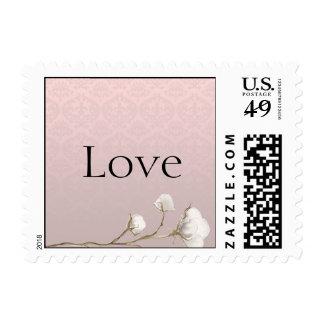 Cotton Damask 2nd Anniversary Stamp