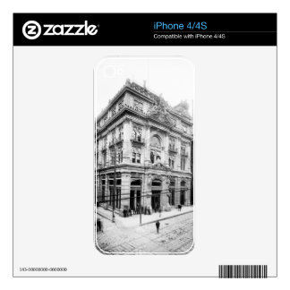Cotton Exchange New Orleans 1881 Skins For iPhone 4S