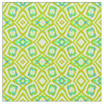 Cotton Fabric- Crafts-Home-Gold/Green/Blue Fabric