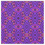 Cotton Fabric- Crafts-Home-Purple/Yellow/Red Fabric