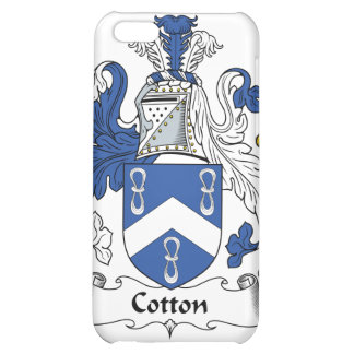 Cotton Family Crest iPhone 5C Cover