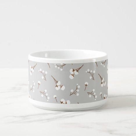 Cotton Flower Pattern Bowl