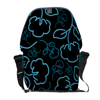 cotton flowers Rickshaw Medium Zero Messenger Bag