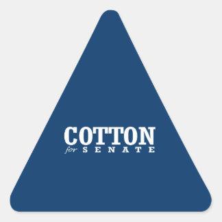 COTTON FOR SENATE 2014 TRIANGLE STICKER