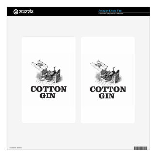 cotton gin bW Kindle Fire Skins