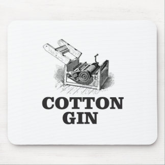 cotton gin bW Mouse Pad
