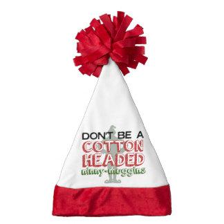 Cotton Headed Ninny-Muggins Christmas Elf Hat Santa Hat
