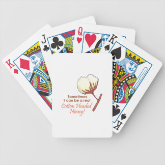 COTTON HEADED NINNY BICYCLE PLAYING CARDS