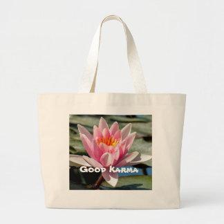 Cotton Jumbo Good Karma Tote